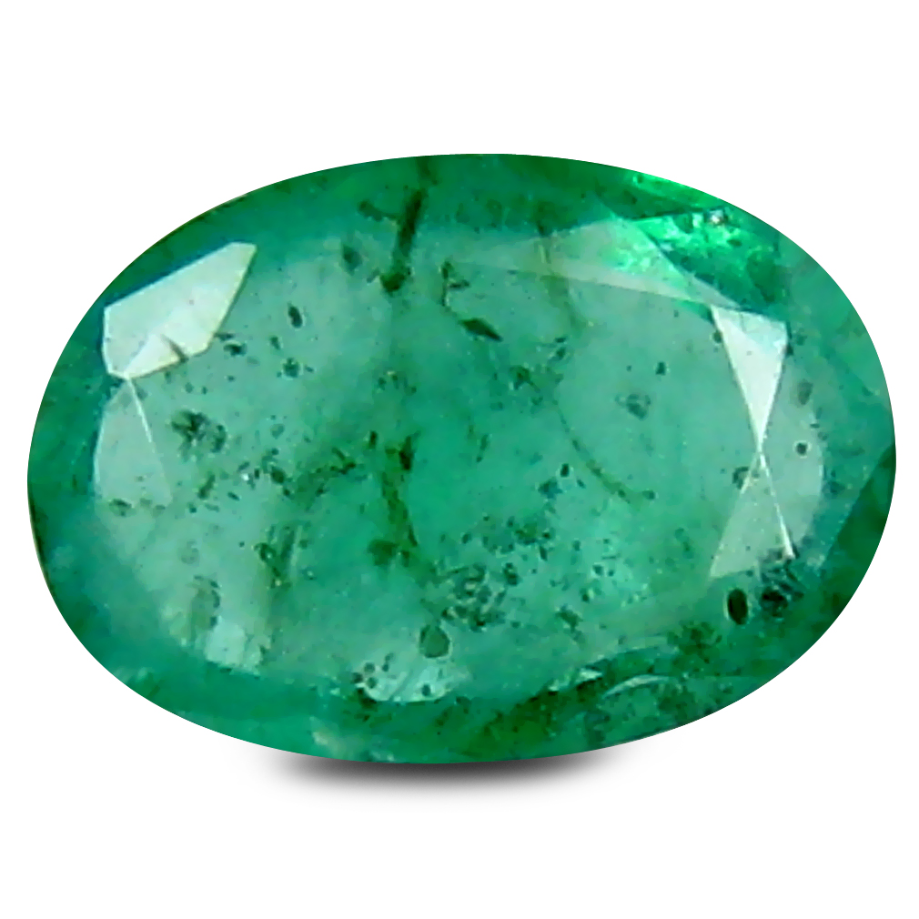 0.46 ct Unbelievable Oval Cut (6 x 4 mm) Green 100% Natural (Un-Heated) Emerald Natural Gemstone