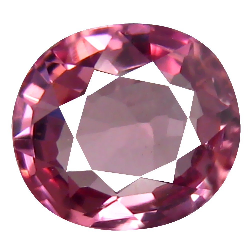 0.84 ct AAA+ Wonderful Oval Shape (6 x 6 mm) Pinkish Orange Malaya Garnet Natural Gemstone