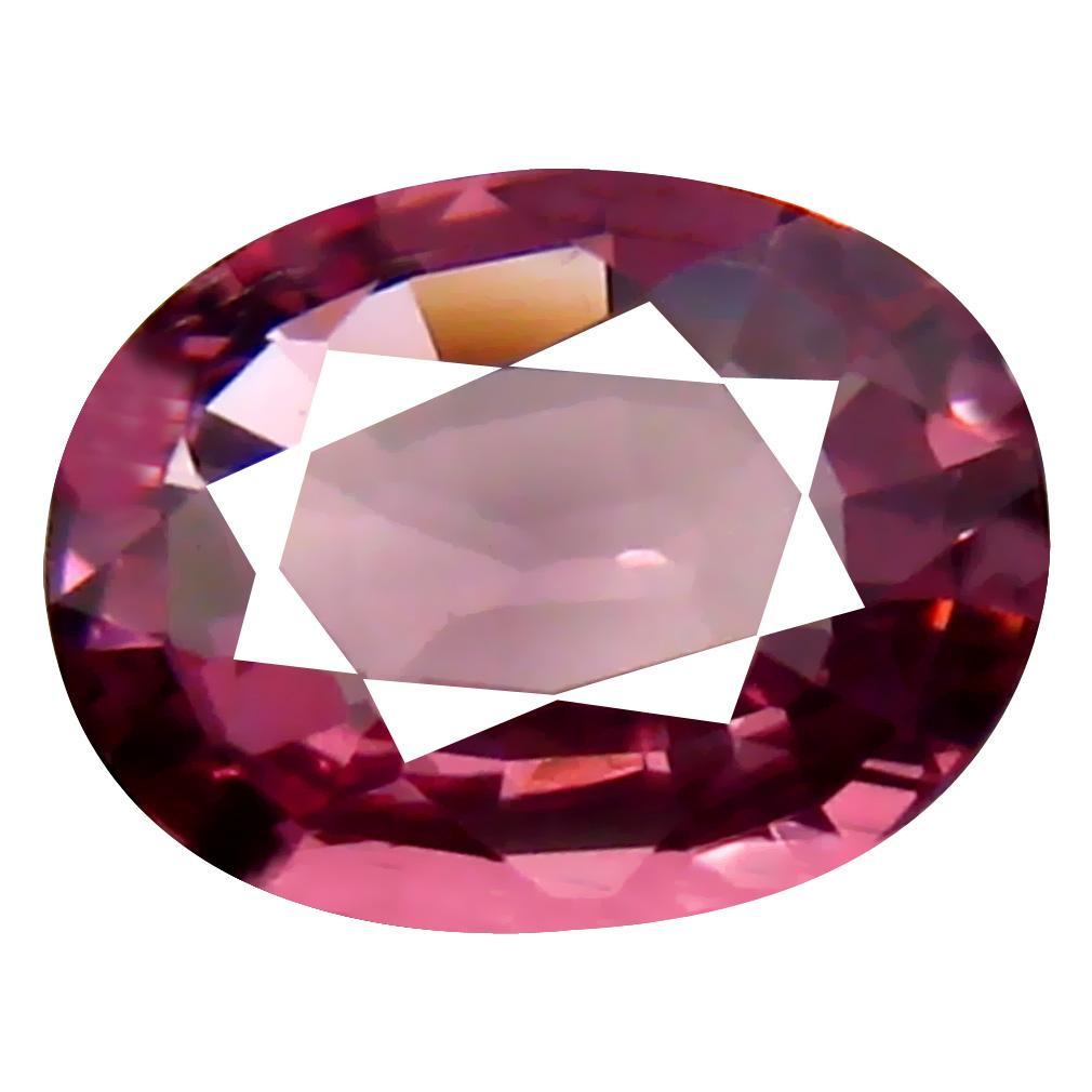 0.81 ct AAA+ Stunning Oval Shape (7 x 5 mm) Pinkish Orange Malaya Garnet Natural Gemstone