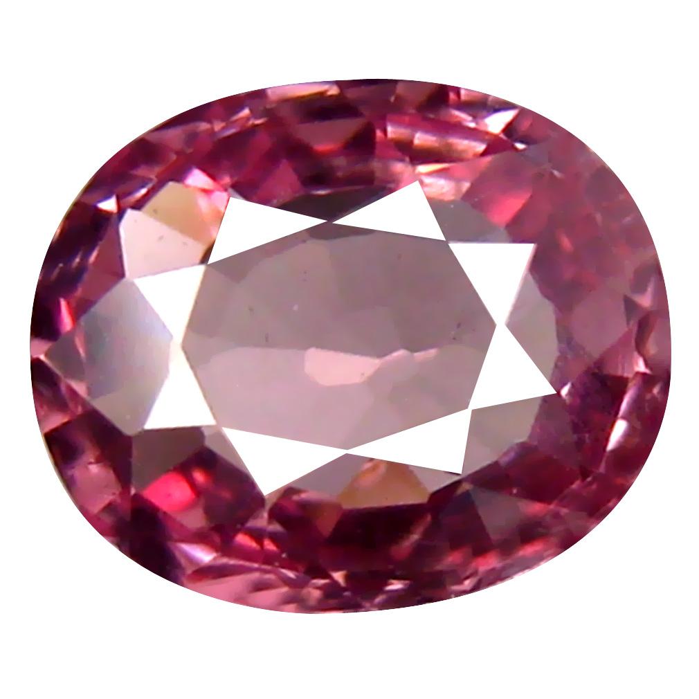 0.92 ct AAA+ Pretty Oval Shape (7 x 5 mm) Pinkish Orange Malaya Garnet Natural Gemstone