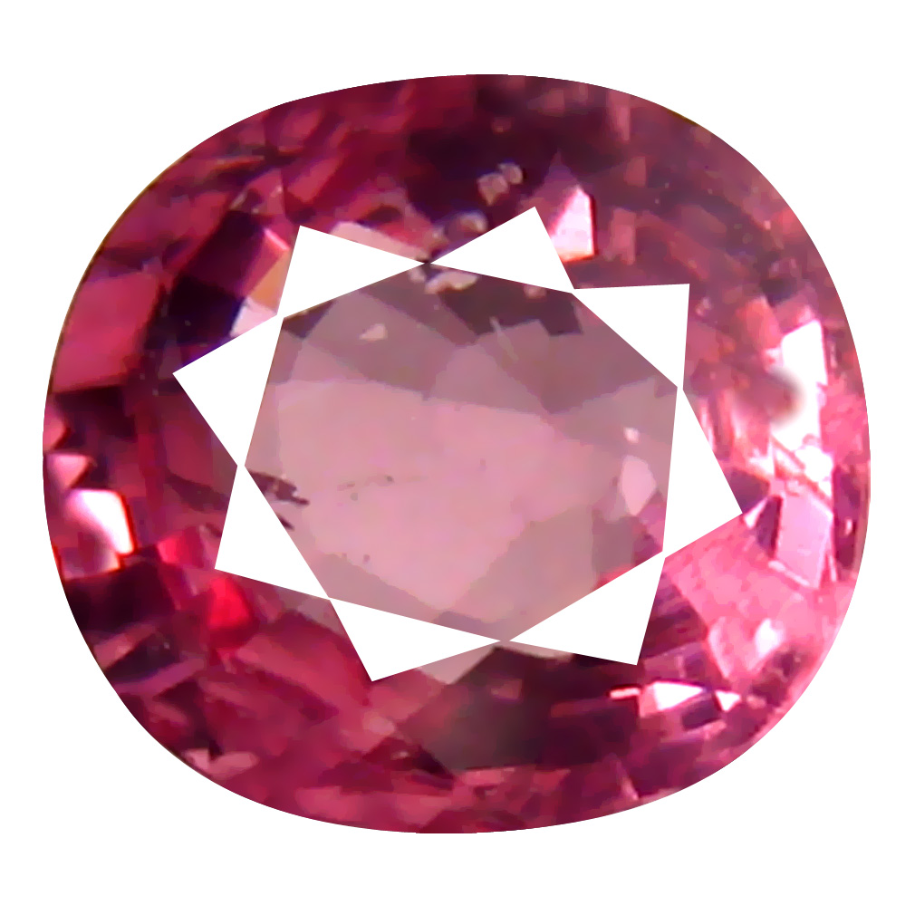 1.06 ct AAA+ Super-Excellent Oval Shape (6 x 6 mm) Pinkish Orange Malaya Garnet Natural Gemstone