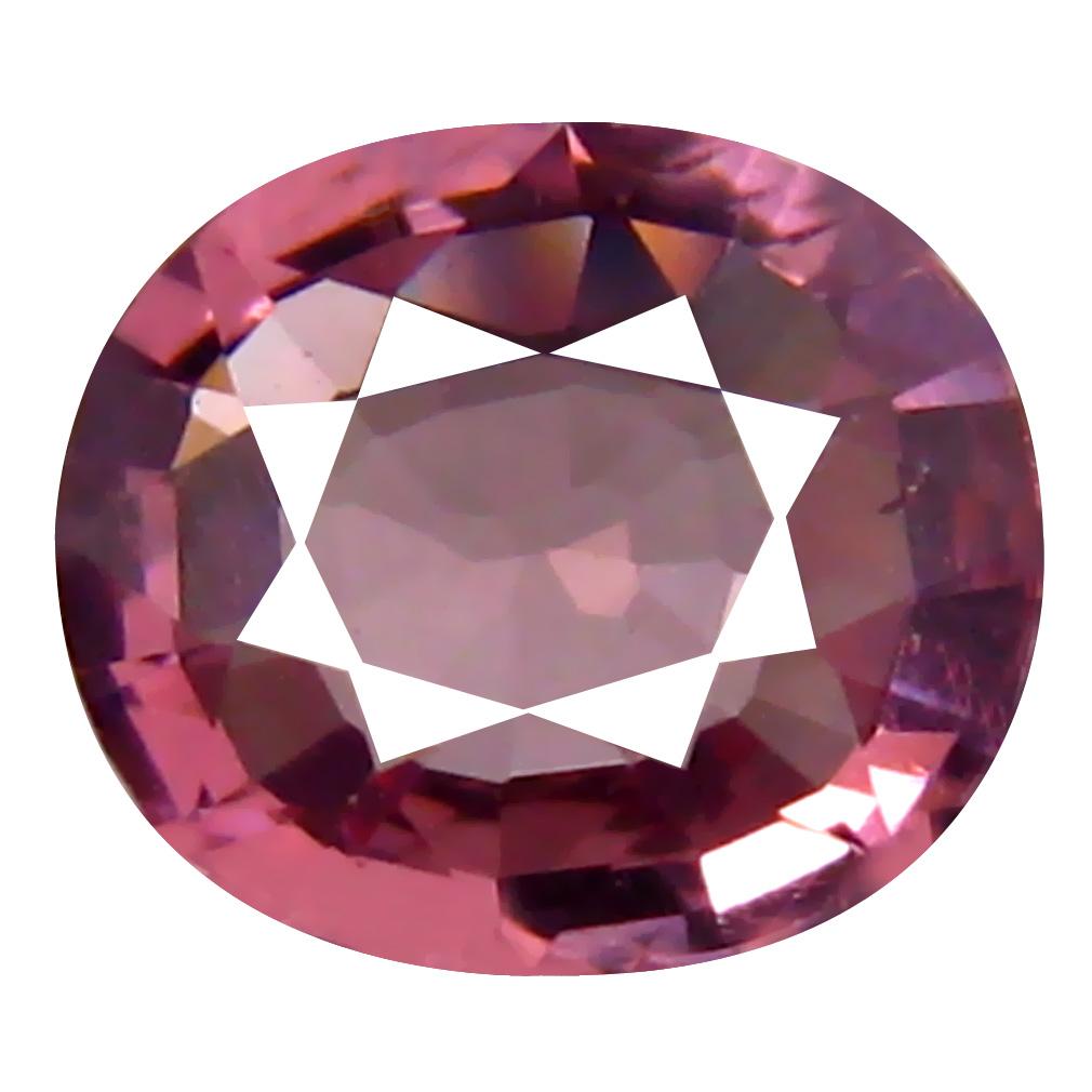 0.70 ct AAA+ Good-looking Oval Shape (6 x 5 mm) Pinkish Orange Malaya Garnet Natural Gemstone