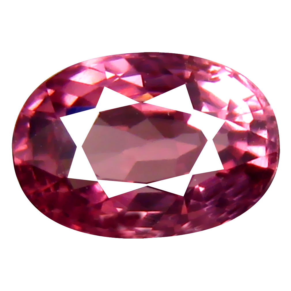 1.02 ct AAA+ Superb Oval Shape (7 x 5 mm) Pinkish Orange Malaya Garnet Natural Gemstone