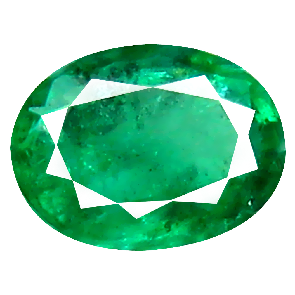 0.32 ct Stunning Oval Cut (5 x 4 mm) Colombian Emerald Natural Gemstone