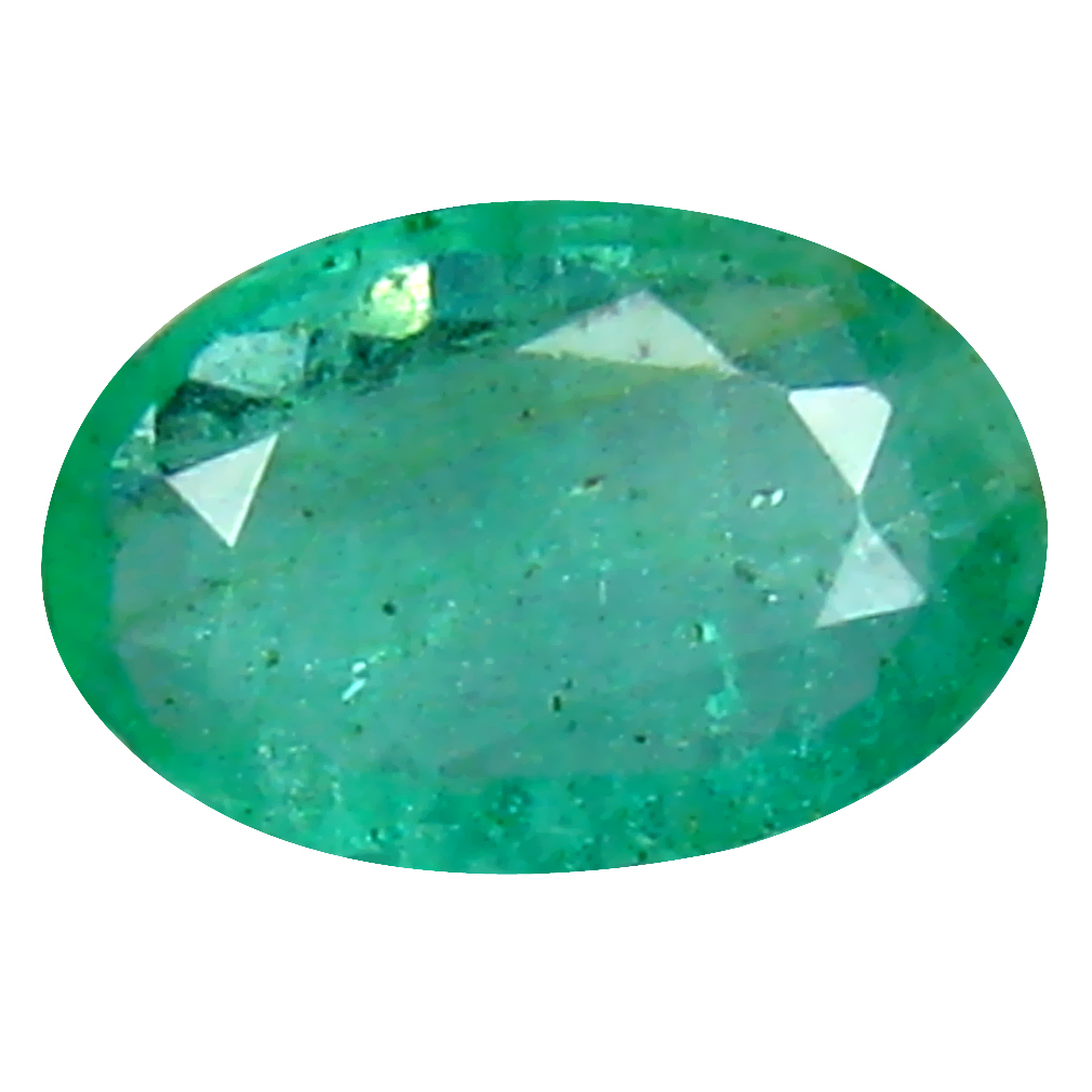 0.36 ct Remarkable Oval Cut (6 x 4 mm) Colombian Emerald Natural Gemstone