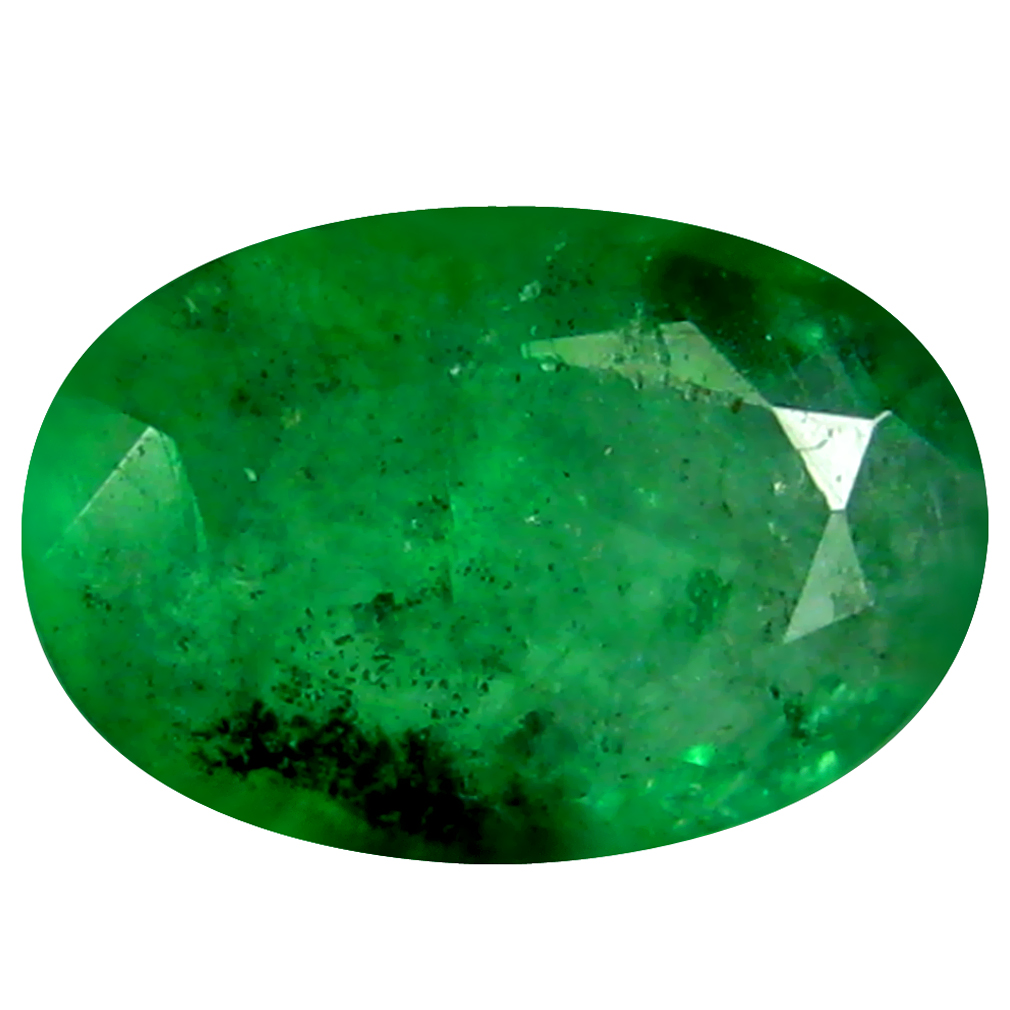 0.33 ct Significant Oval Cut (6 x 4 mm) Green 100% Natural (Un-Heated) Emerald Natural Gemstone