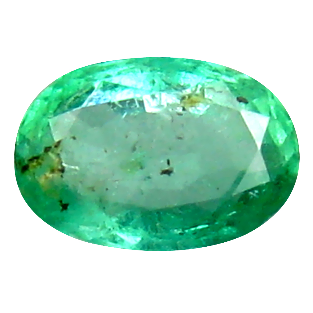 0.41 ct Incomparable Oval Cut (6 x 4 mm) Colombian Emerald Natural Gemstone