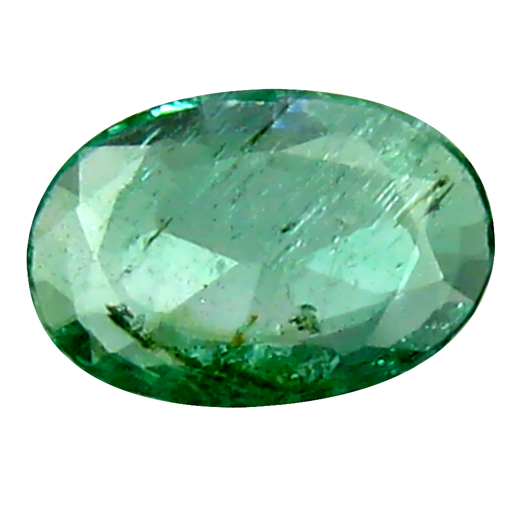 0.27 ct Remarkable Oval Cut (6 x 4 mm) Colombian Emerald Natural Gemstone