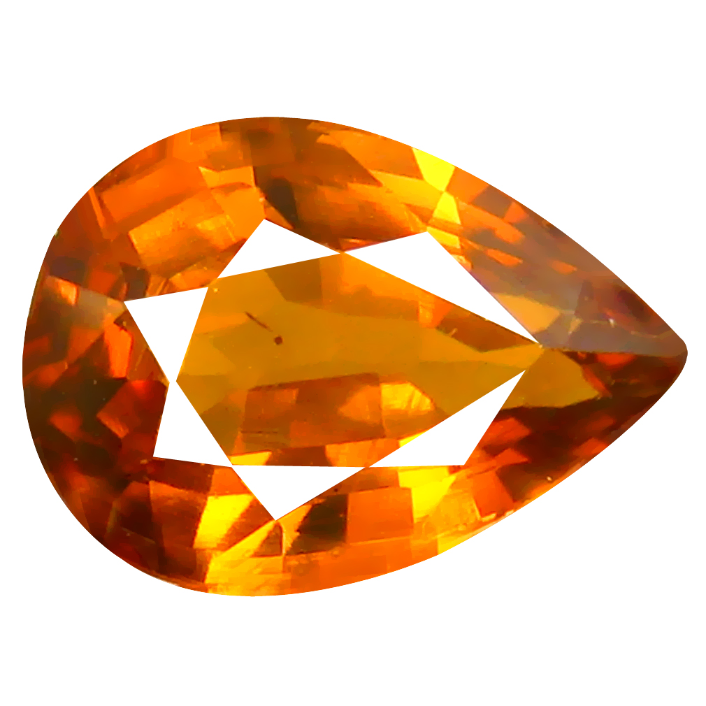 2.23 ct Terrific Pear Cut (10 x 7 mm) Honey Yellow Un-Heated Mali Garnet Natural Gemstone