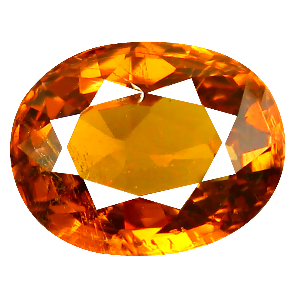 2.15 ct Superb Oval Cut (8 x 7 mm) Honey Yellow Un-Heated Mali Garnet Natural Gemstone