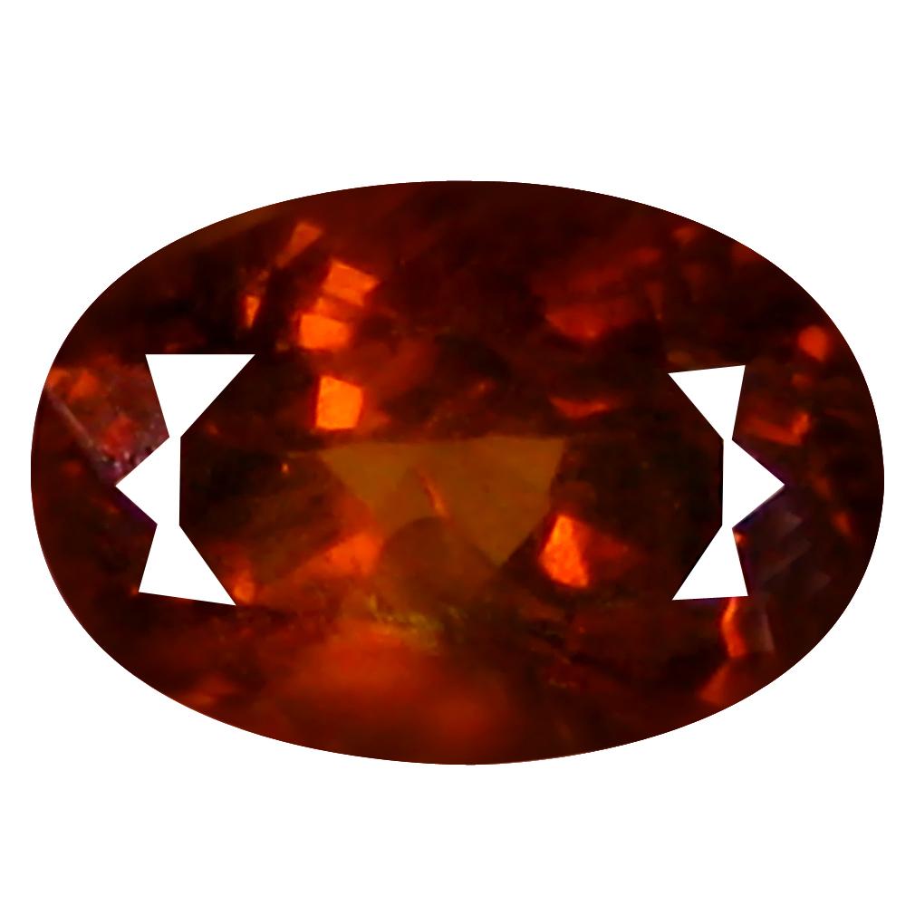 1.46 ct  Astonishing Oval Shape (8 x 5 mm) Brownish Green Mali Garnet Natural Gemstone