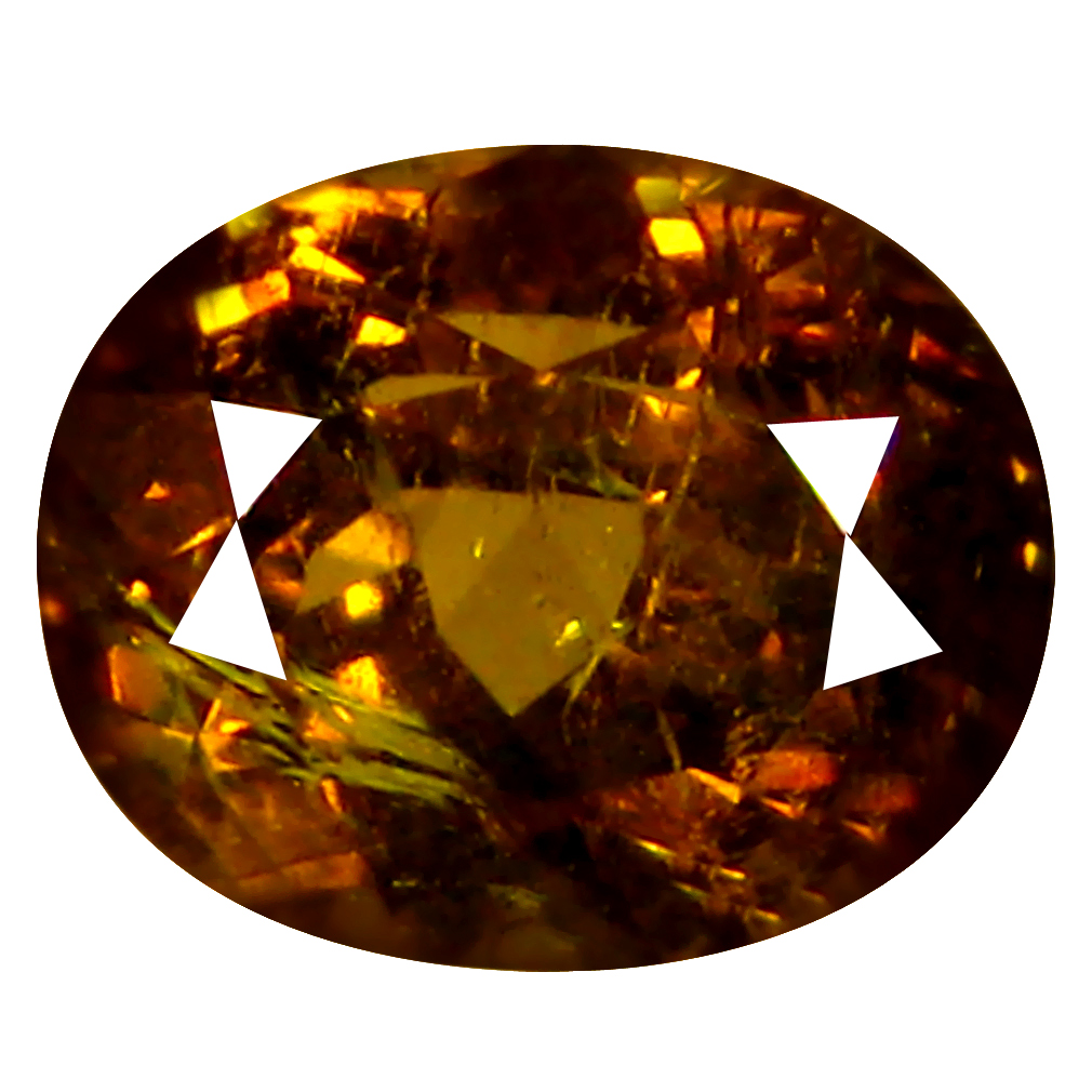 2.13 ct  Astonishing Oval Shape (8 x 6 mm) Brownish Green Mali Garnet Natural Gemstone