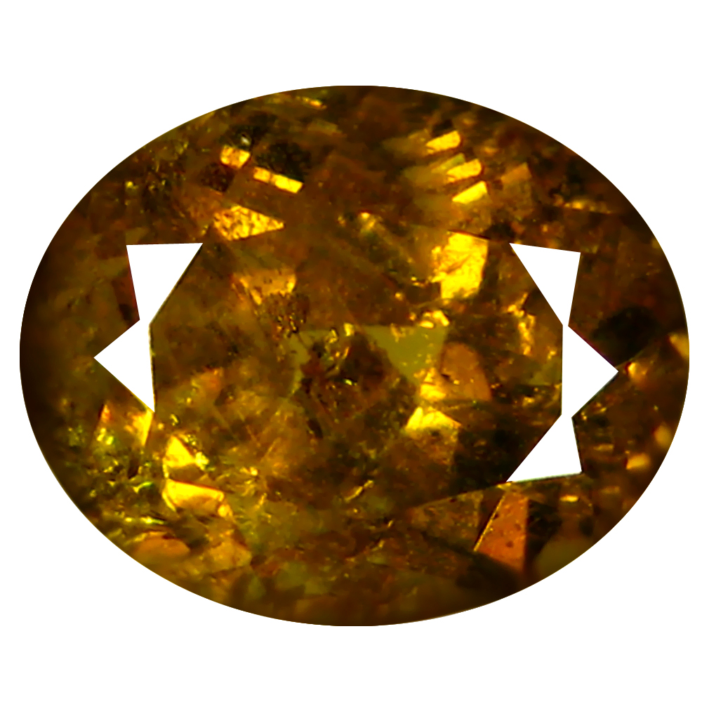 2.17 ct  Great looking Oval Shape (8 x 6 mm) Brownish Green Mali Garnet Natural Gemstone