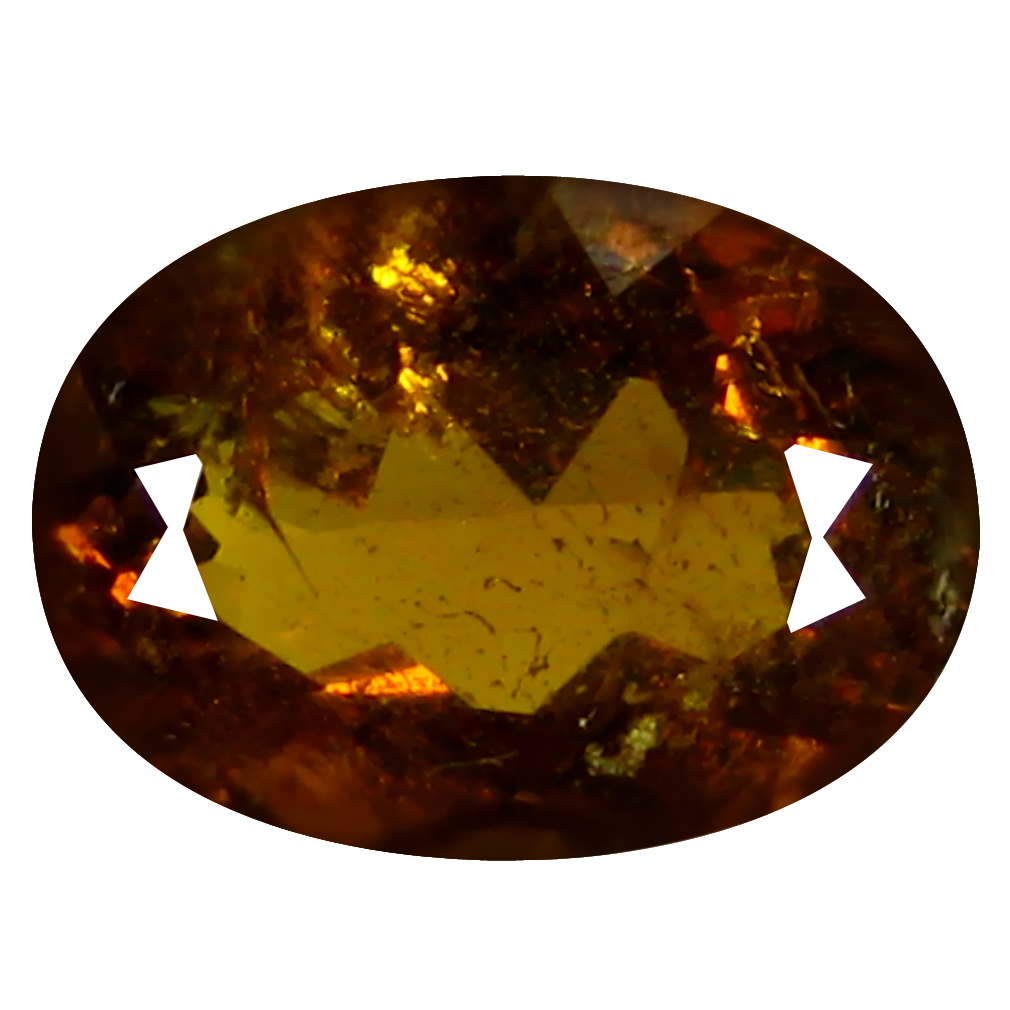 2.87 ct  Gorgeous Oval Shape (10 x 7 mm) Brownish Green Mali Garnet Natural Gemstone