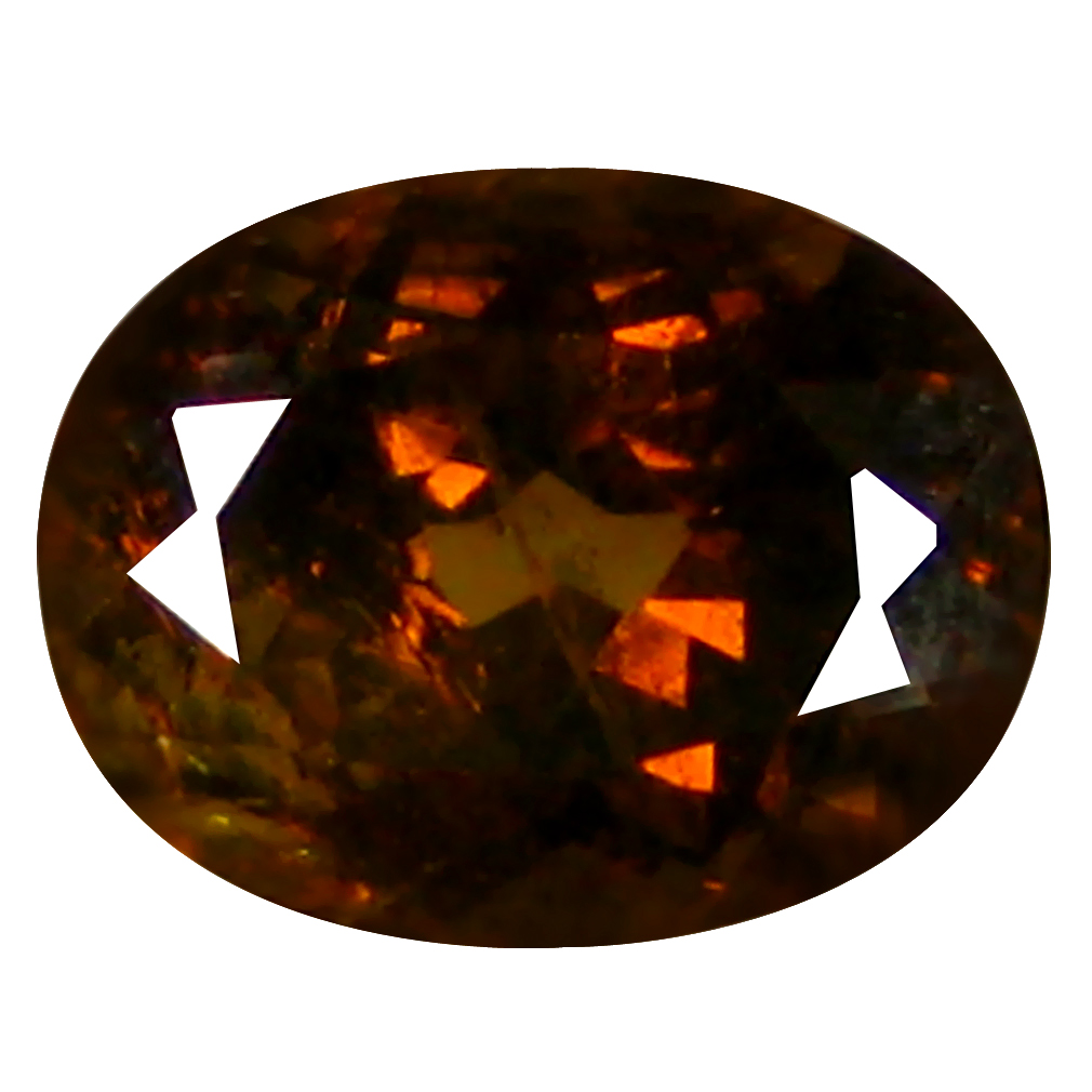 1.57 ct  Magnificent Oval Shape (8 x 6 mm) Brownish Green Mali Garnet Natural Gemstone