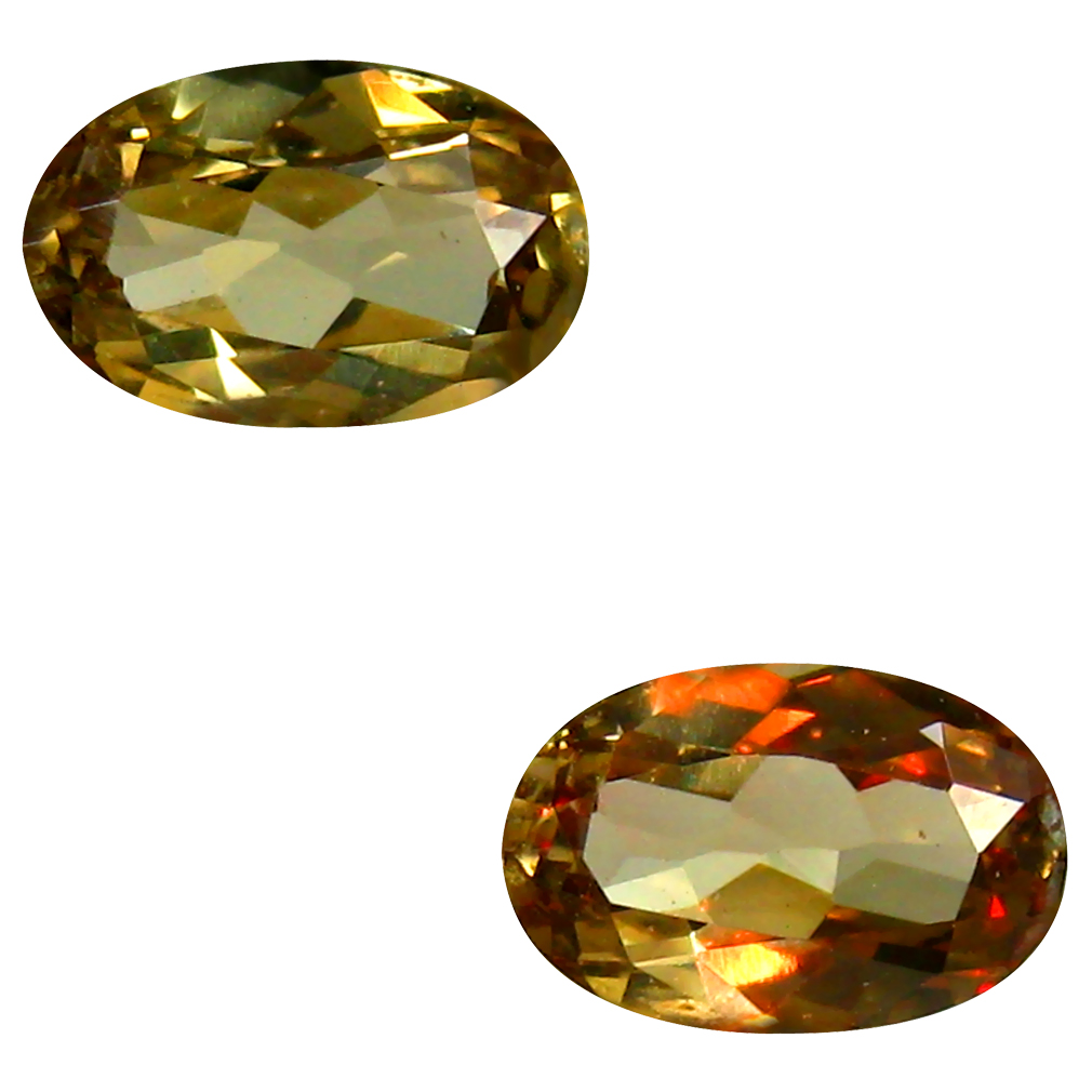 0.56 ct AAA+ Grand looking Oval Shape (6 x 4 mm) Natural Color Change Garnet Loose Stone