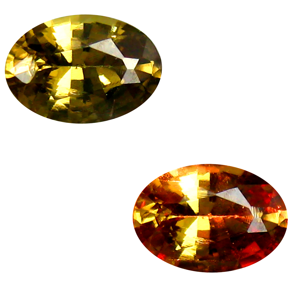 0.58 ct AAA+ Flashing Oval Shape (6 x 4 mm) Natural Color Change Garnet Loose Stone