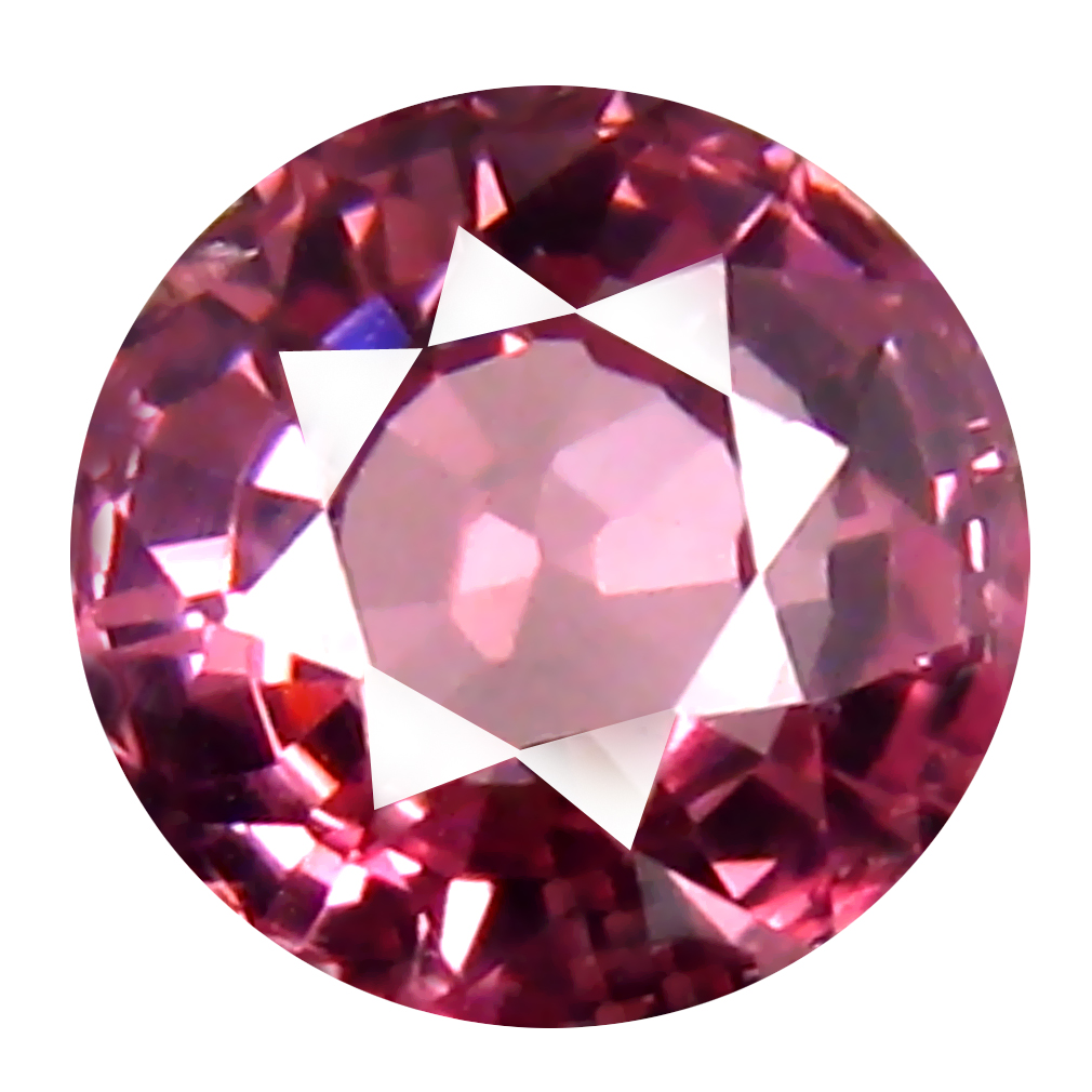 1.03 ct AAA+ Marvelous Round Shape (6 x 6 mm) Pink Malaya Garnet Natural Gemstone
