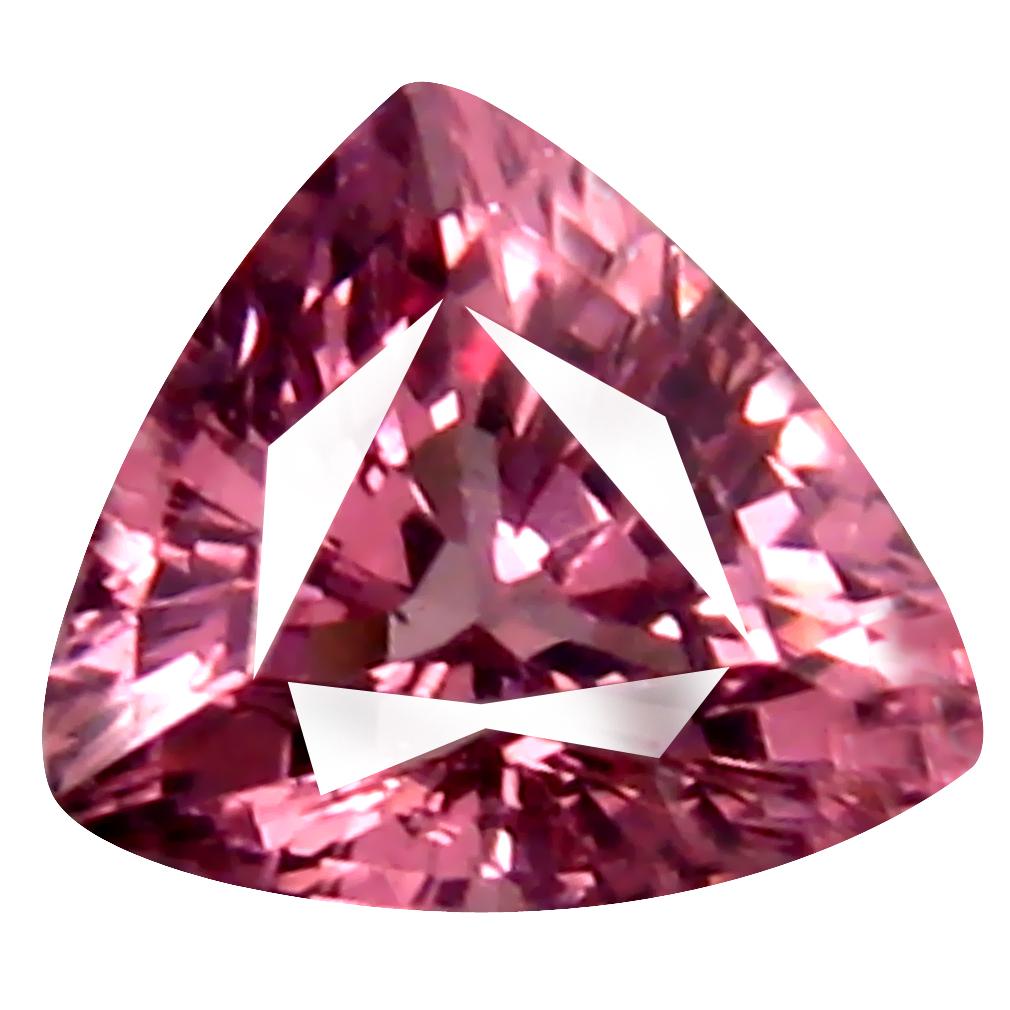 0.59 ct AAA+ Marvelous Trillion Shape (5 x 5 mm) Pink Malaya Garnet Natural Gemstone