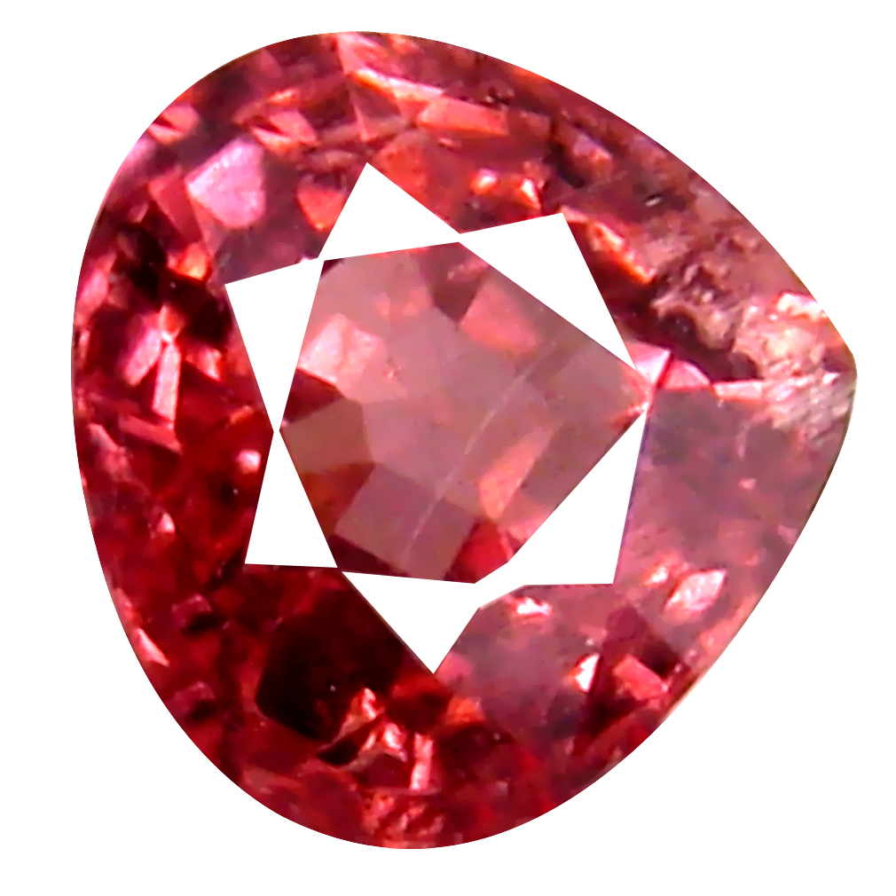 0.97 ct AAA+ Great looking Pear Shape (6 x 6 mm) Pink Malaya Garnet Natural Gemstone