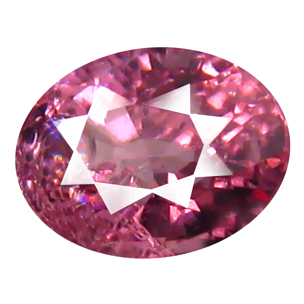 0.92 ct AAA+ Stunning Oval Shape (6 x 5 mm) Pink Malaya Garnet Natural Gemstone