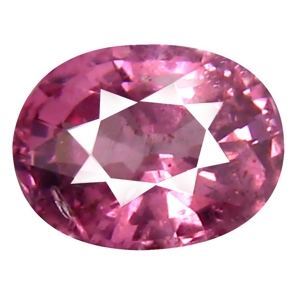 0.88 ct AAA+ Tremendous Oval Shape (6 x 5 mm) Pink Malaya Garnet Natural Gemstone