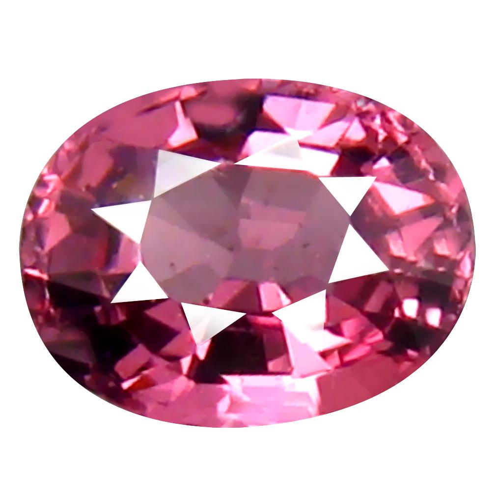 0.87 ct Unbelievable Oval Cut (6 x 5 mm) Tanzania Pink Malaya Garnet Natural Gemstone