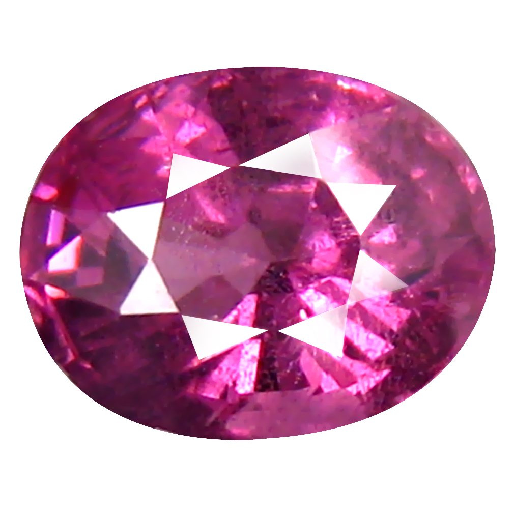 1.28 ct Stunning Oval Cut (7 x 5 mm) Tanzania Pink Malaya Garnet Natural Gemstone