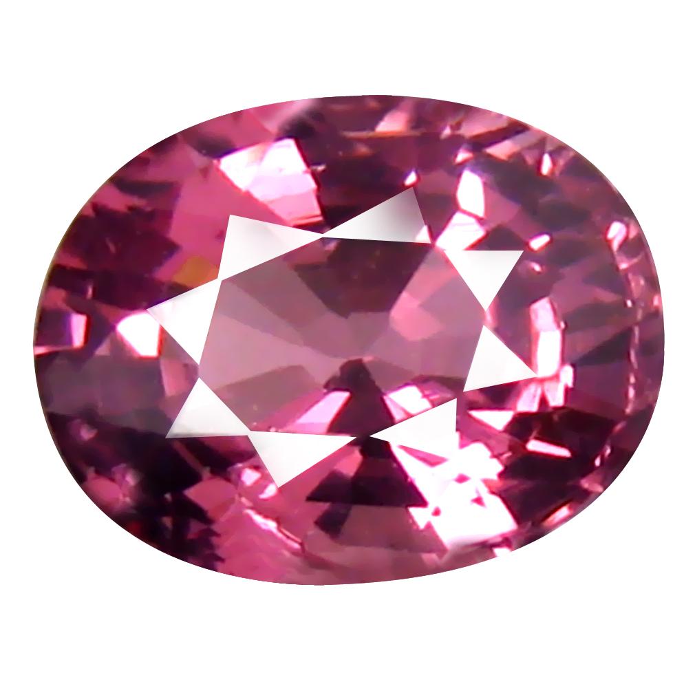 1.04 ct Pretty Oval Cut (7 x 5 mm) Tanzania Pink Malaya Garnet Natural Gemstone