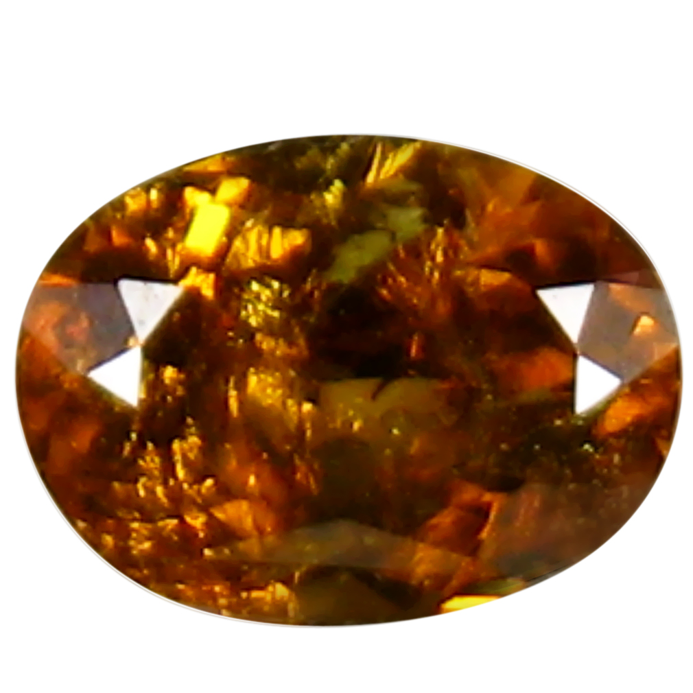 1.31 ct Wonderful Oval Cut (8 x 6 mm) Golden Yellow Un-Heated Mali Garnet Natural Gemstone