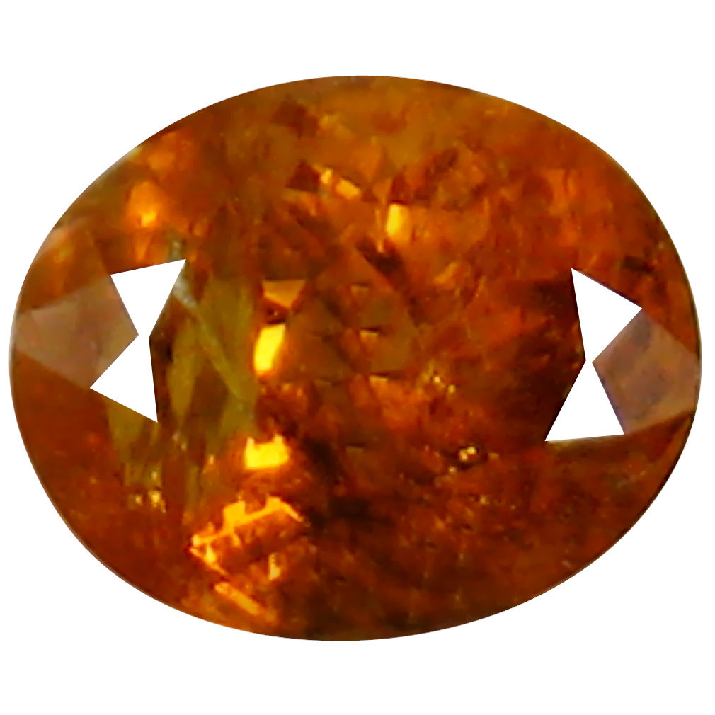 1.36 ct Incredible Oval Cut (7 x 6 mm) Golden Yellow Un-Heated Mali Garnet Natural Gemstone