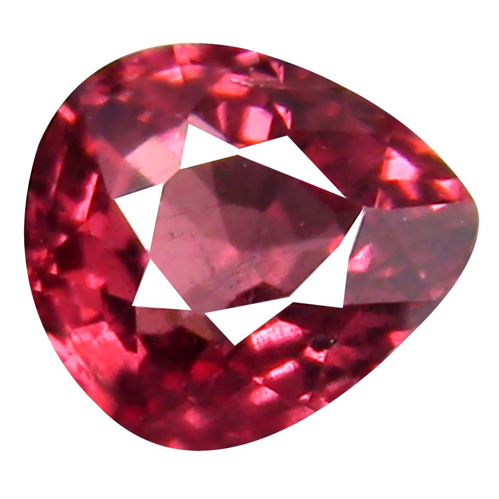 0.83 ct AAA+ Great looking Pear Shape (6 x 5 mm) Pink Malaya Garnet Natural Gemstone