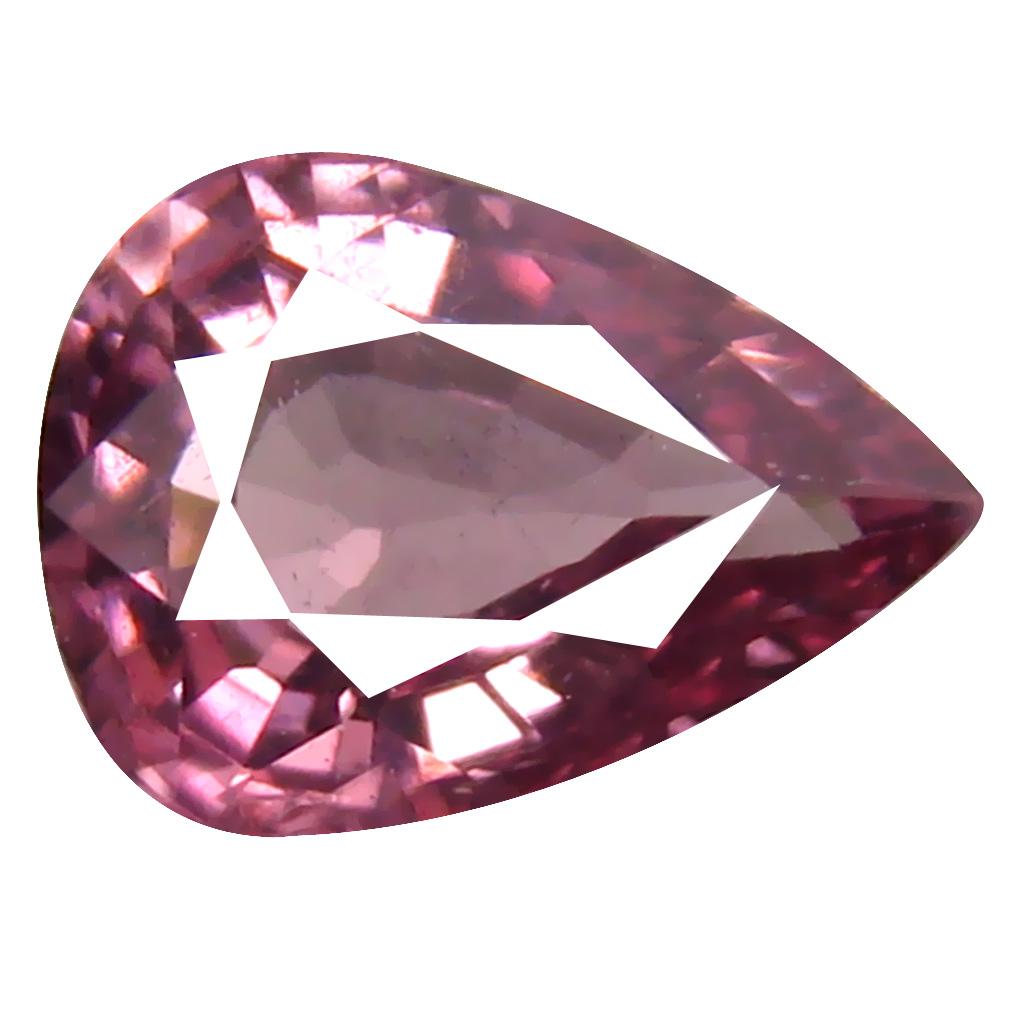 0.76 ct AAA+ Super-Excellent Pear Shape (7 x 5 mm) Pink Malaya Garnet Natural Gemstone