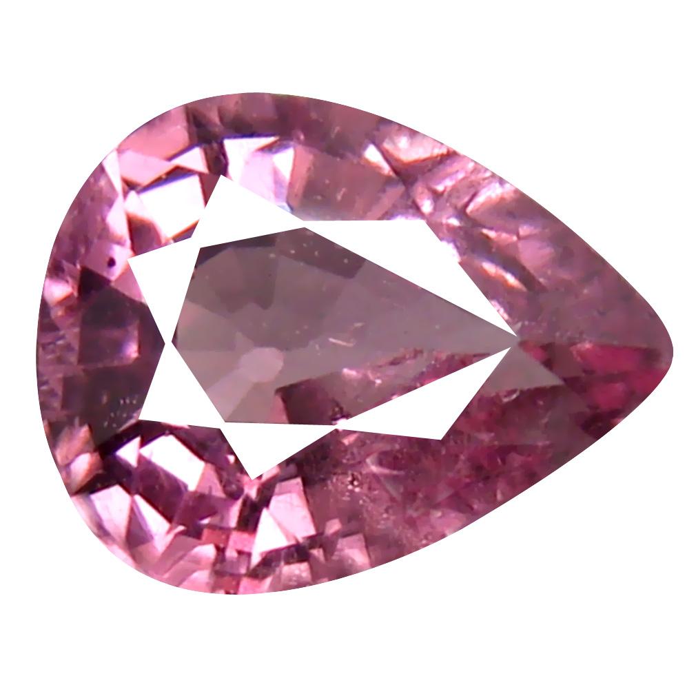 0.87 ct AAA+ Impressive Pear Shape (7 x 5 mm) Pink Malaya Garnet Natural Gemstone