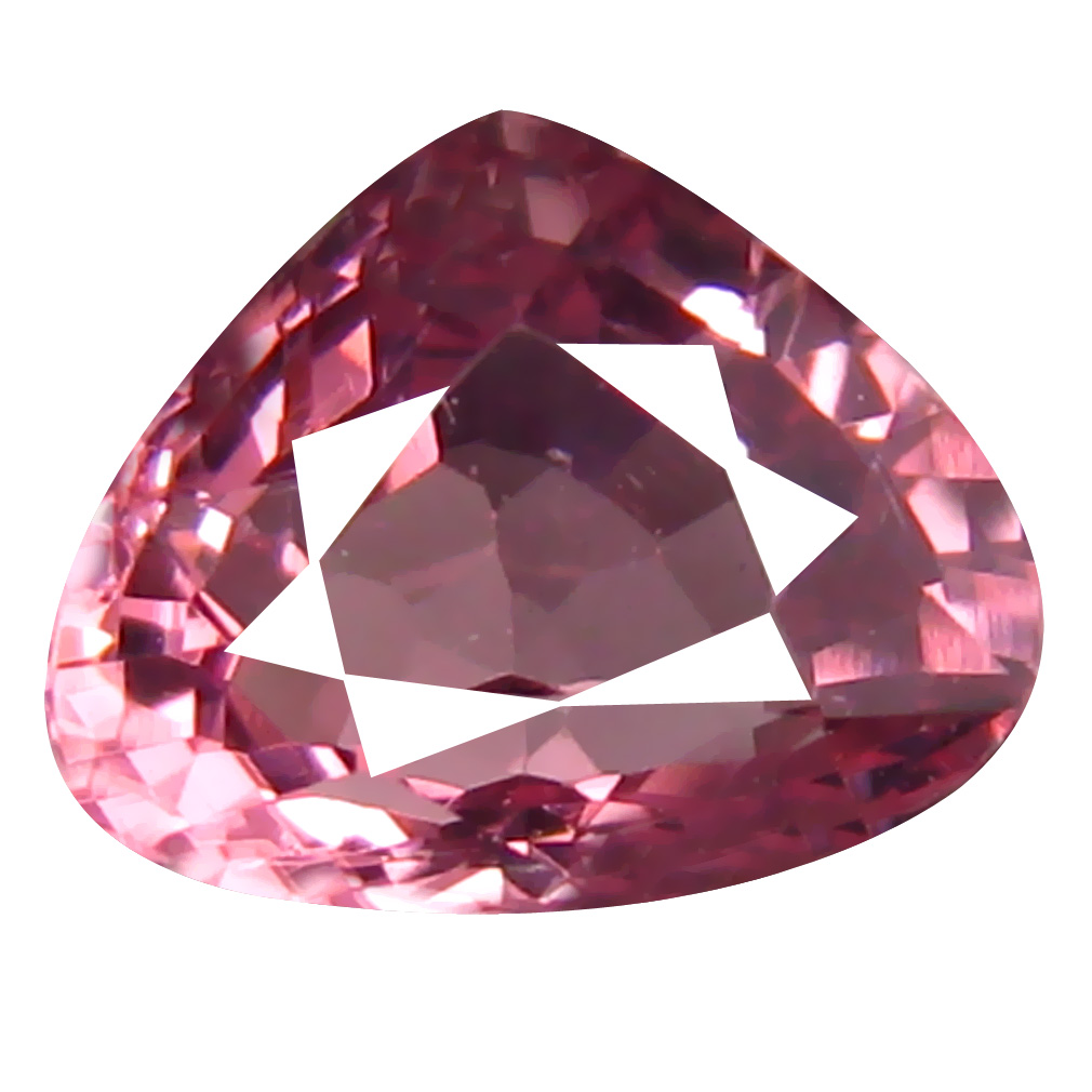 1.03 ct AAA+ Gorgeous Pear Shape (6 x 6 mm) Pink Malaya Garnet Natural Gemstone