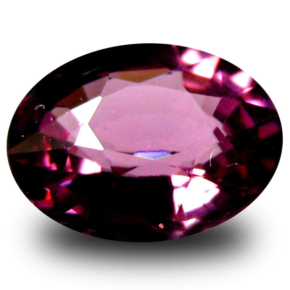 1.08 ct AAA+ Incredible Oval Shape (7 x 6 mm) Pinkish Red Rhodolite Garnet Natural Gemstone