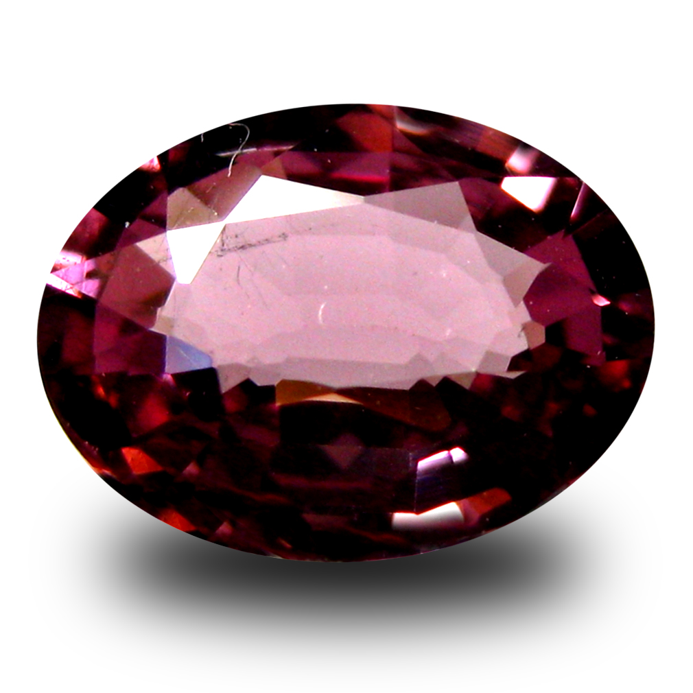 1.17 ct AAA+ Unbelievable Oval Shape (8 x 6 mm) Pinkish Red Rhodolite Garnet Natural Gemstone