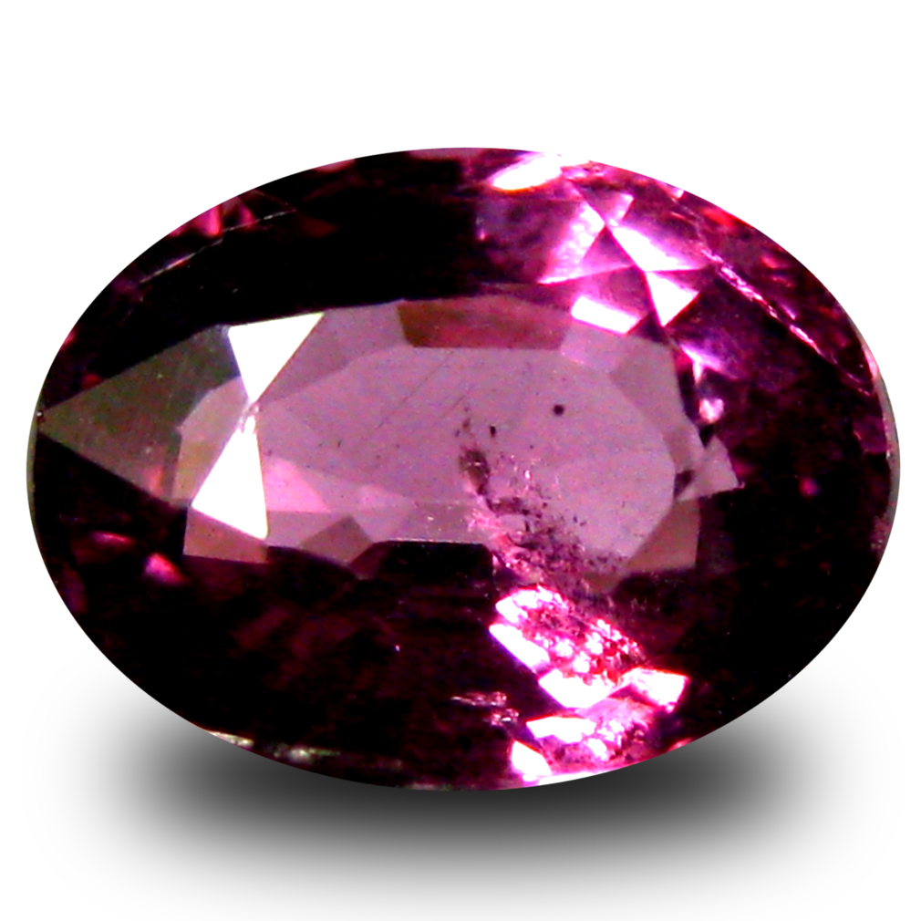 1.16 ct AAA+ Romantic Oval Shape (7 x 5 mm) Pinkish Red Rhodolite Garnet Natural Gemstone