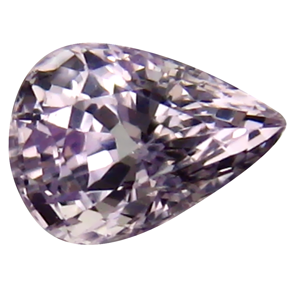 0.94 ct Attractive Pear Cut (7 x 5 mm) Ceylon Pink Sapphire Genuine Loose Gemstone
