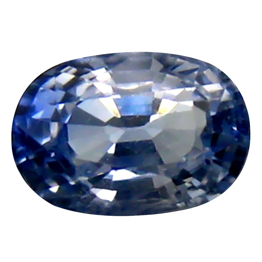 0.49 ct Best Oval Cut (5 x 4 mm) Ceylon Blue Sapphire Genuine Loose Gemstone