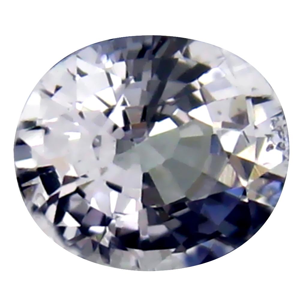 0.63 ct Mesmerizing Oval Cut (6 x 5 mm) Ceylon Blue Sapphire Genuine Loose Gemstone