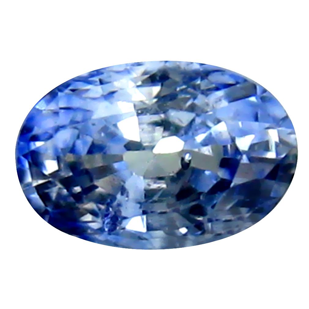 0.44 ct Pleasant Oval Cut (5 x 4 mm) Ceylon Blue Sapphire Genuine Loose Gemstone