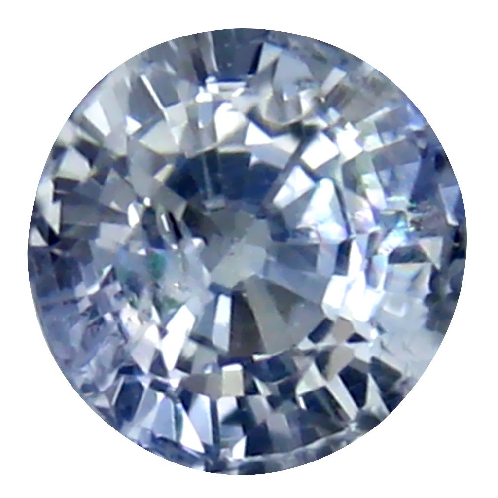 0.77 ct Fabulous Round Cut (5 x 5 mm) Ceylon Blue Sapphire Genuine Loose Gemstone
