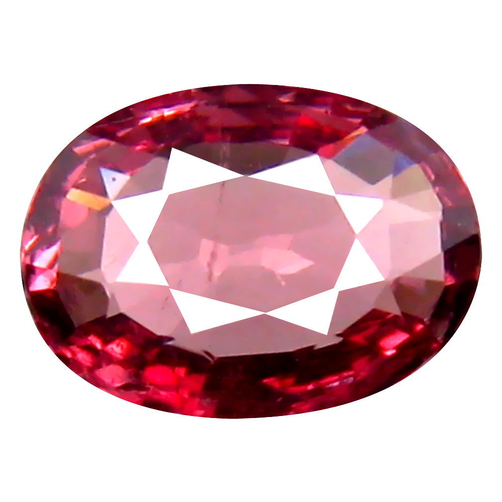 1.13 ct Very good Oval Cut (8 x 6 mm) Tanzania Pink Malaya Garnet Natural Gemstone
