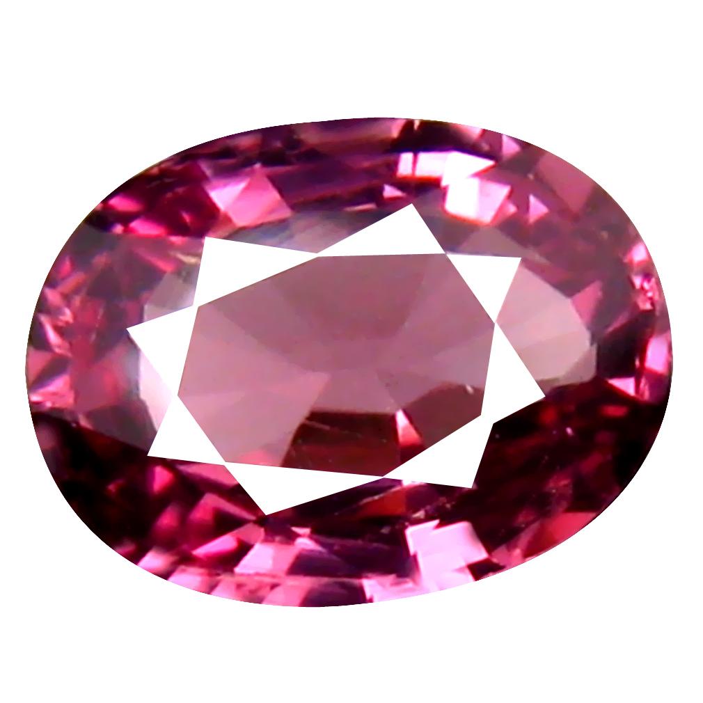 1.04 ct Gorgeous Oval Cut (7 x 5 mm) Tanzania Pink Malaya Garnet Natural Gemstone