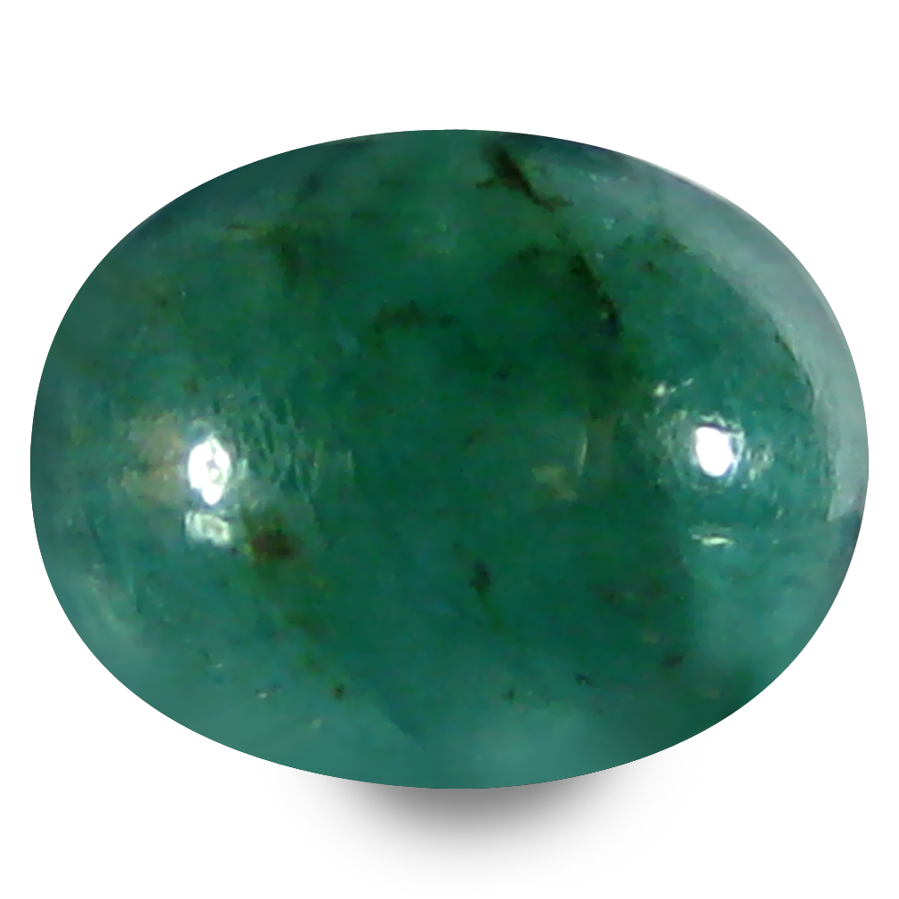 1.63 ct AAA Valuable Oval Cabochon Shape (9 x 7 mm) Green Grandidierite Natural Gemstone