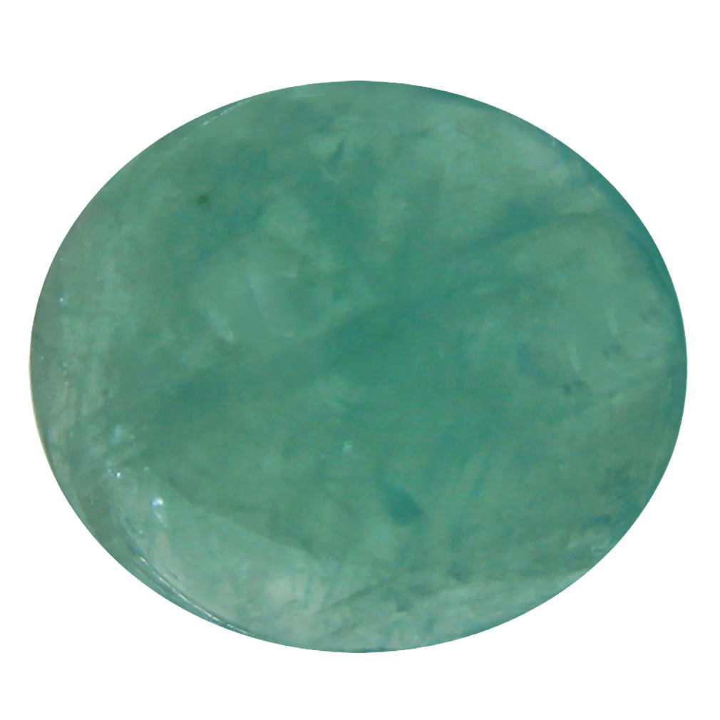 5.54 ct Super-Excellent Oval Cabochon Cut (12 x 11 mm) Un-Heated Natural Grandidierite Loose Gemstone