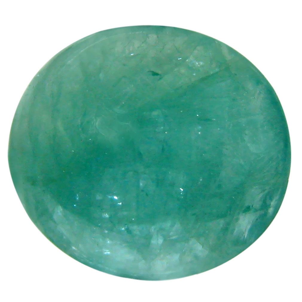3.24 ct Super-Excellent Oval Cabochon Cut (10 x 9 mm) Un-Heated Natural Grandidierite Loose Gemstone