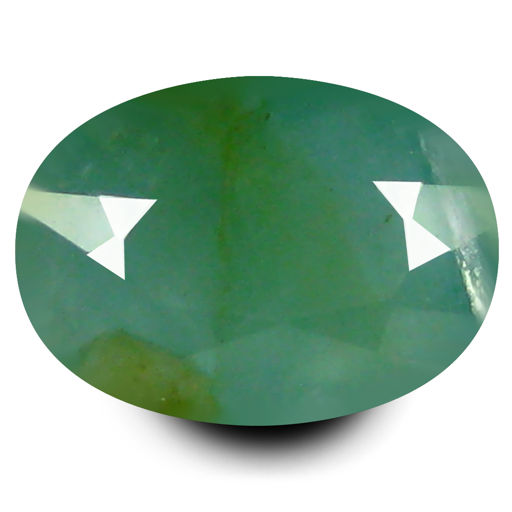 0.76 ct AAA Charming Oval Shape (7 x 5 mm) Bluish Green Grandidierite Natural Gemstone