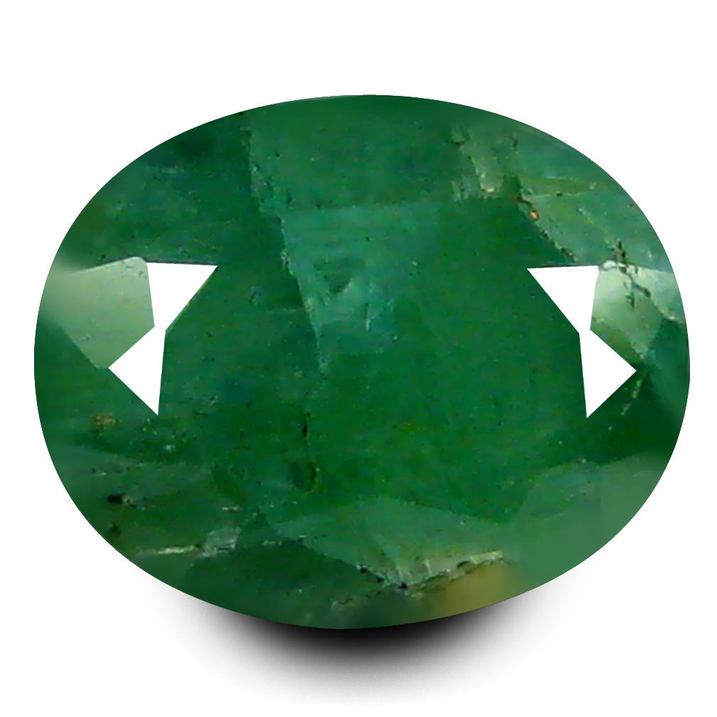 1.70 ct AAA Sparkling Oval Shape (8 x 6 mm) Bluish Green Grandidierite Natural Gemstone